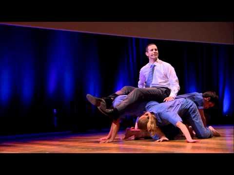 TEDx Brussels - John Bohannon & Black Label Movement - Dance Your PhD