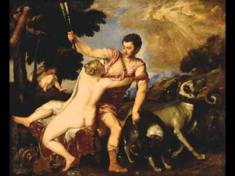 Venus and Adonis, Titian (Tiziano Vecellio)