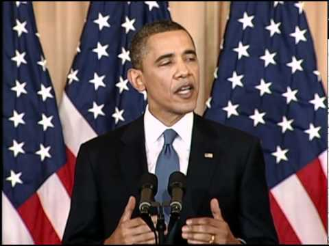 President Obama: U.S. Support for Changes in the Middle East (Arabic)