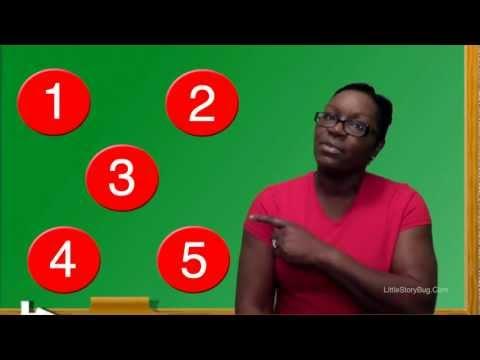 Preschool Learning - Counting Circles - Littlestorybug