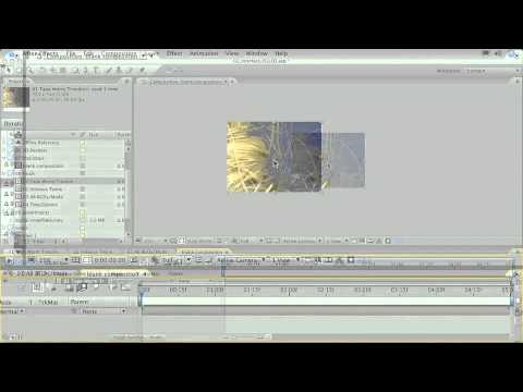 Training for Adobe After Effects CS3 Essentials Ch2  L6 Exploring the Composition Window