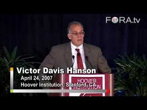 "Victor Davis Hanson - Is the ""War on Terror"" Really a War?"