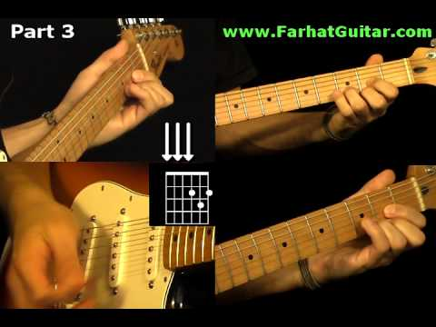 With a Little Help From My Friends The Beatles - Guitar Cover Part 3  www.Farhatguitar.com