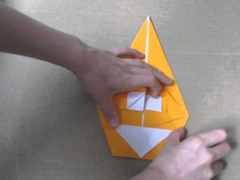 Origami Transforming Pumpkin by Michael Anton