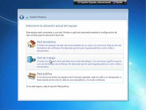 Windows 7 Enterprise - Instalación