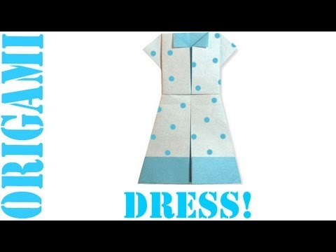 Origami Daily - 308: Dress - TCGames HD
