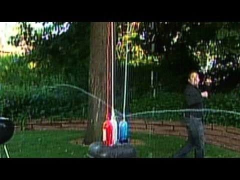 Patriotic Mentos Geyser - 4th of July Cool Science Experiment