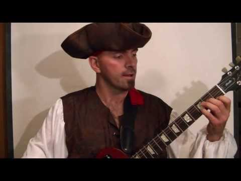 PIRATES OF THE CARIBBEAN Guitar Lesson Theme  (With Tabs)