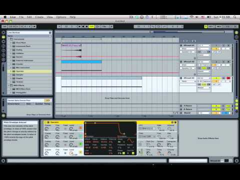 Tom Cosm   Creating 3 Whooshing Build Up Noises in Ableton Live
