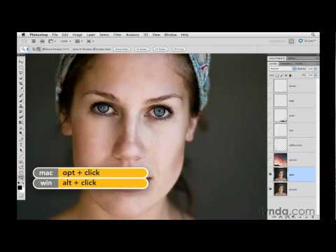 Photoshop tutorial: How to retouch eyes | lynda.com