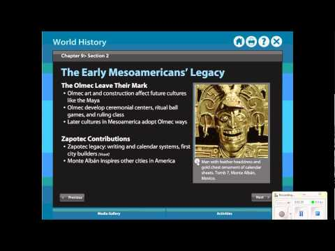 Review- Chapter 9 Sections 2 and 3 - Mesoamerica and Andes.wmv