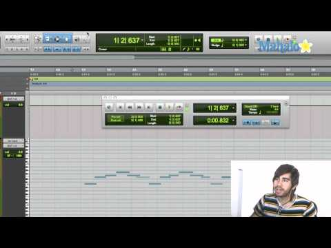 Selecting Material with MIDI - Pro Tools 9