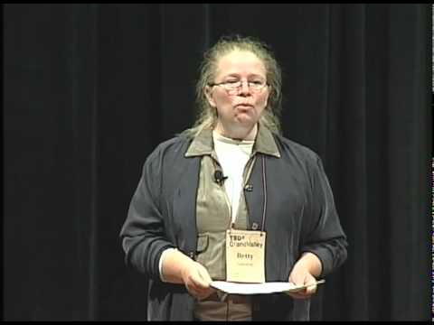 TEDxGrandValley - Betty Gajewski - 7 Revelations from a Grand Career