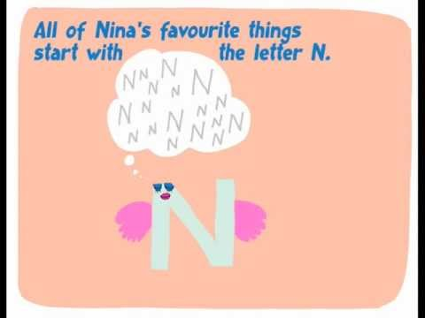 The alphabet for kids. Letter N: Nina & the Noodles
