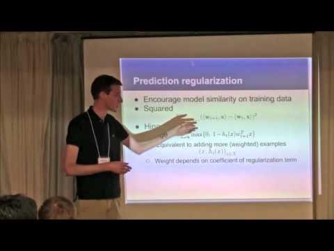 NIPS 2011 Domain Adaptation Workshop: History Dependent Domain Adaptation