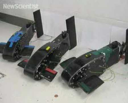 Robot fish synchronise into schools