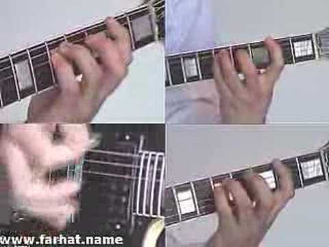 Wake me up When september ends  Green Day  part 4 Cover www.Farhatguitar.com Guitar
