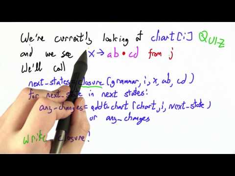 Writing Closure - CS262 Unit 4 - Udacity