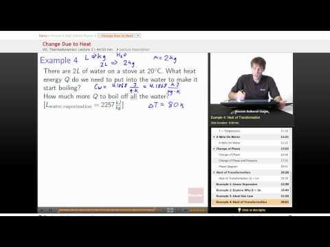 Physics: Change Due to Heat