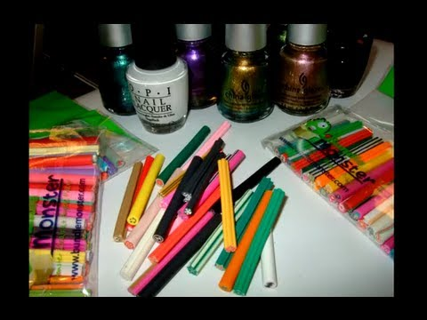 Vlog- Nail product haul -August 2012