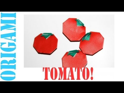 Origami Daily - 327: Tomato - TCGames [HD]