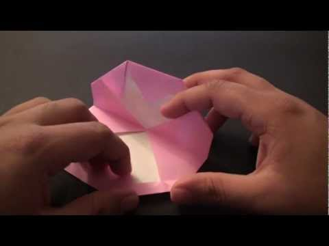 Origami Daily - 165: Light Hearted (Secret Heart Valentine's Day) - TCGames [HD]