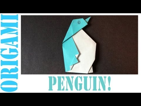 Origami Daily - 232: Penguin - TCGames [HD]