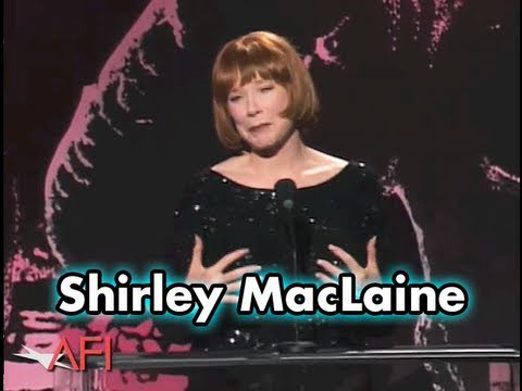"Shirley MacLaine Says Jack Nicholson Is ""Channeling"""