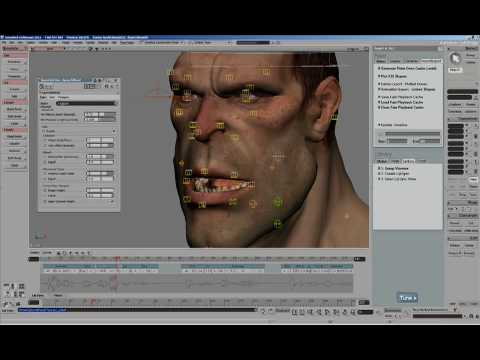 Softimage 2011 — Face Robot Lip Sync
