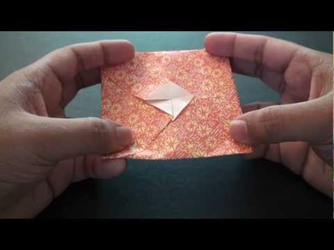 Origami Daily - 296 Gift Envelope (Designed) - TCGames [HD]