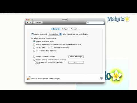 Using Passwords - How to use Mac OS X Snow Leopard