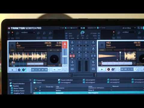 Traktor scratch pro video 10  verifying timecode signal.