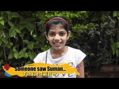 Tongue Twister - Someone Saw Suman