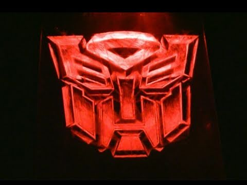Transformers LED artwork