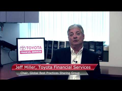 Toyota Financial Services Testimonial for Gemba Academy