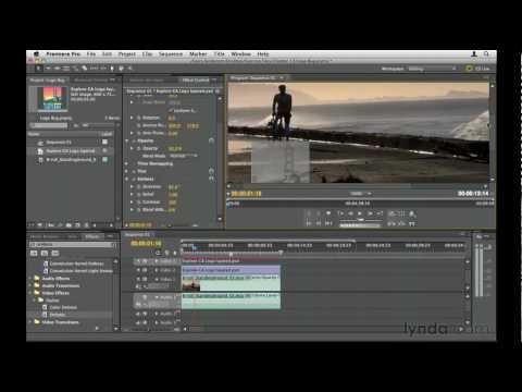 Premiere Pro: How to make logo bugs | lynda.com tutorial