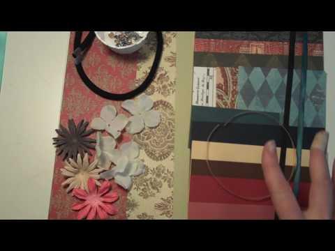 Purse Mini Album Class Kits