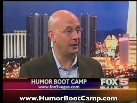 Wish you were funnier? Want more laughs? Go to Humor Boot Camp®!