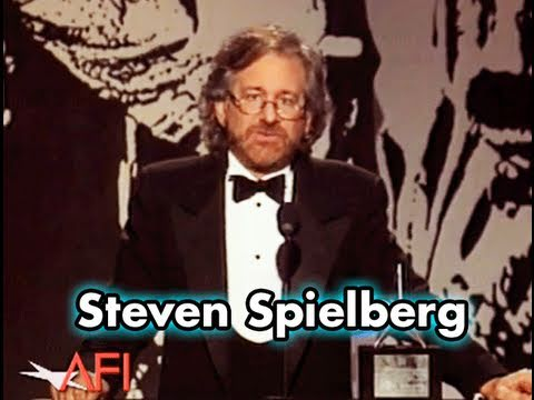 Steven Spielberg Accepts the AFI Life Achievement Award in 1995