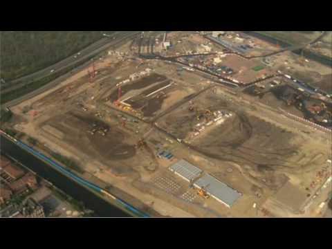 Olympic Park fly-through 2009 - London 2012