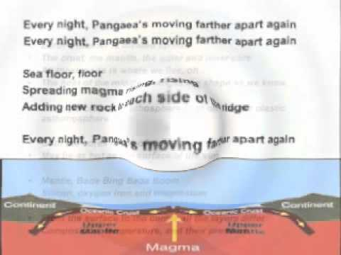 Pangaea's Moving Farther Apart Again Song