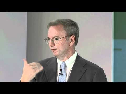 Perspective from Google - Eric Schmidt at European Zeitgeist 2011