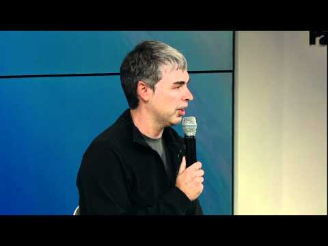 Q&A With Larry Page & Eric Schmidt at Zeitgeist Americas 2011