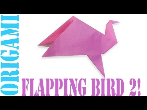 Origami Daily - 313: Flapping Bird 2 - TCGames [HD]
