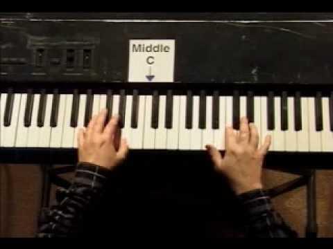 Piano Lesson - Kohler's Very Easiest Piano Studies #25