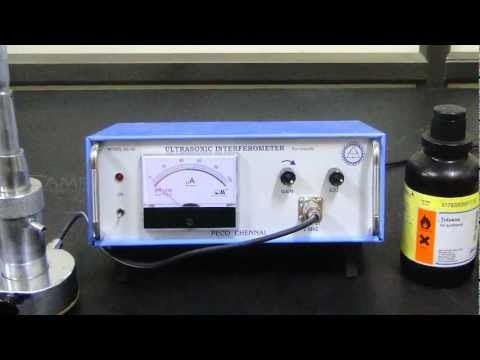 Ultrasonic Interferometer (Amrita University)