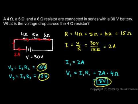 Physics 13.4.1c - Series Resistor Examples