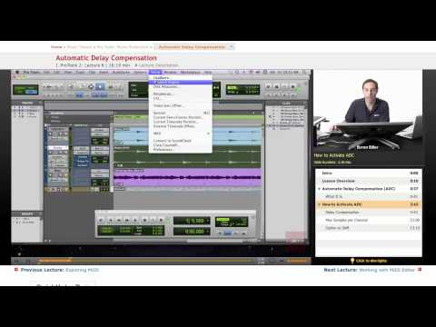 Pro Tools: Automatic Delay Compensation