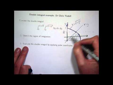 Polar coordinates and double integrals