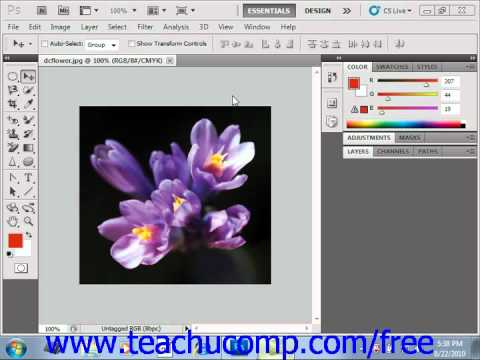 Photoshop CS5 Tutorial Previewing Color Differences on Operating Systems Adobe Training Lesson 4.3